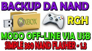 Simple 360 NAND Flasher -1.3 - Backup da nand do xbox RGH