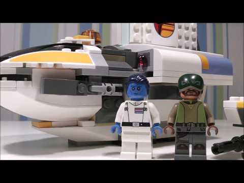 Lego Star Wars Rebels: Phantom Review & Comparison!!