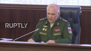 Russia: De-escalation zones to be set up in Homs, East Ghouta, and Idlib - MoD