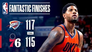 The Thunder And 76ers Engage In A Fantastic Finish | January 19, 2019