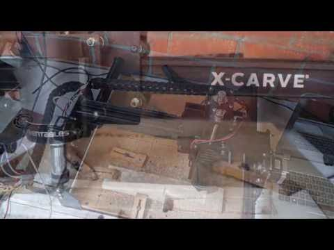 Making a brass lure with the X-carve