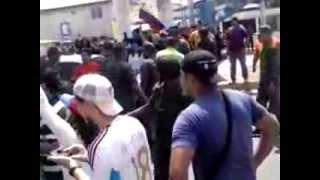PROTESTA EN CIUDAD OJEDA