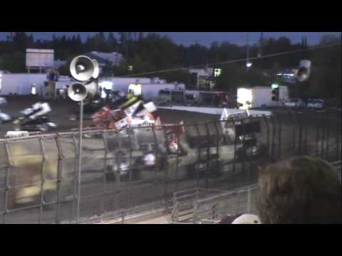 Silver Dollar Speedway, 2009 Pacific Sprint Fall Nationals, Final Night, E-Main and D-Main