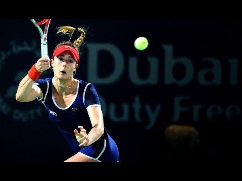 2014 Dubai Duty Free Tennis Championships Semifinal WTA Highlights