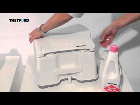Thetford Porta Potti Excellence -- Comfortable and hygienic