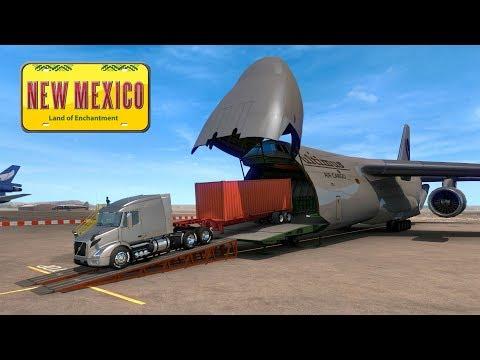 New México   Entrega en el Cargoplane   Volvo VNR 640