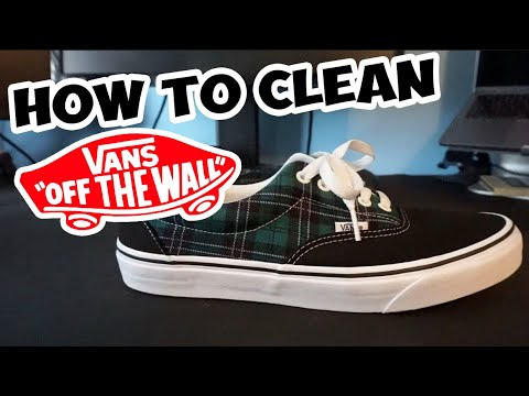 How To Clean Your Vans