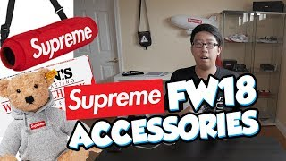 BEST ACCESSORIES OF SUPREME FW18