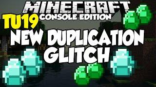 Minecraft [XBOX & PS3,PS4] NEW TU19 DUPLICATION GLITCH (No Longer Works)