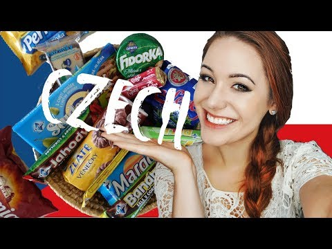 Girl Tries CZECH Snacks 🇨🇿  | 17 Types of Candy!