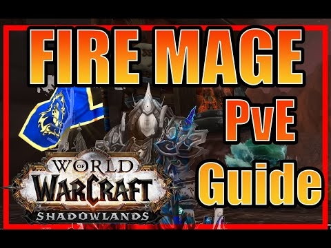 WoW SL - Fire Mage Talent Guide Pre-Patch