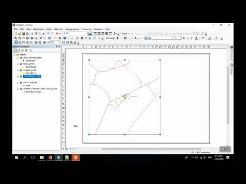 Video : Tutorial Membuat Layout Peta Sederhana Pada ArcGIS 10.5
