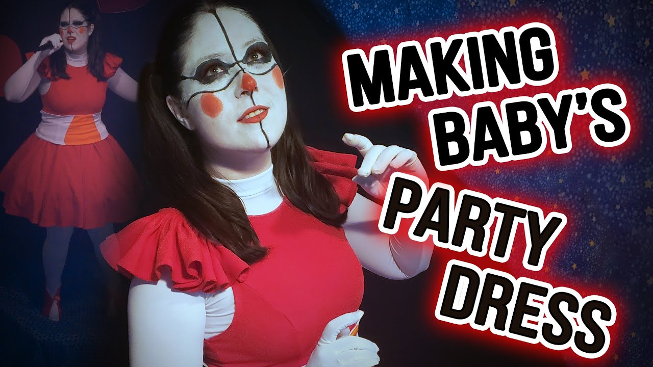 Making Circus Baby's Party Dress!