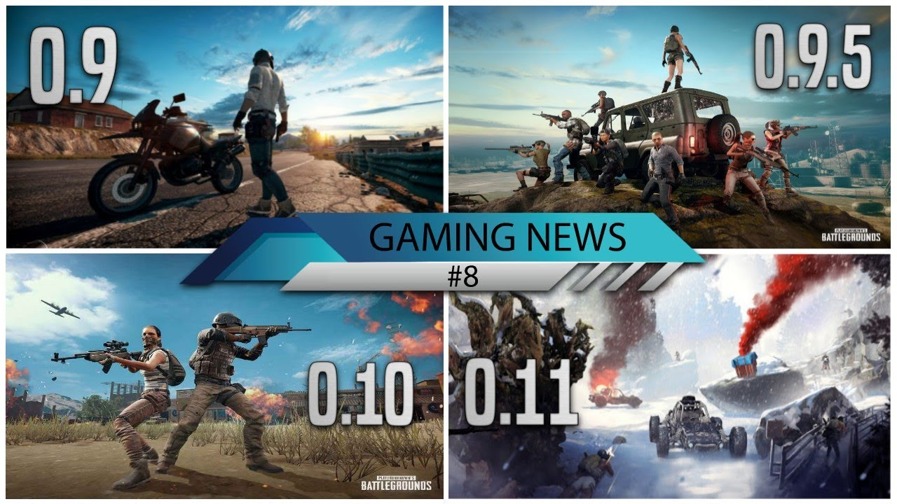 New Pubg Mobile Upcoming Updates 0 9 0 9 5 0 10 0 11 Features