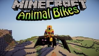[FR]-Animal Bikes : Présentation de mods-[Minecraft 1.7.2]