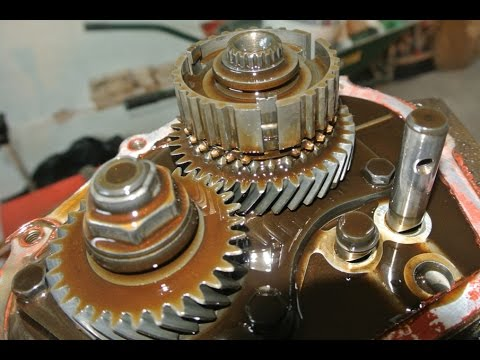 How to rebuild a transmission - taking a peek inside