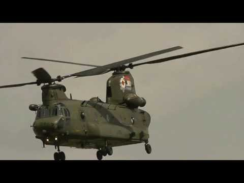 skilled pilot of chinook