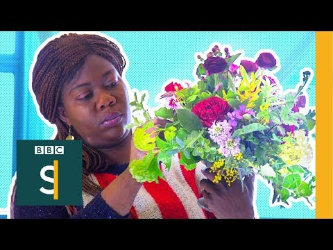 From a victim of domestic violence to a florist with a difference - BBC Stories