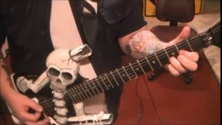 How to play The Ultimate Sin by Ozzy Osbourne on guitar by Mike Gross(rockinguitarlessons.com)