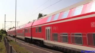 111/ 143 mit Dostos und 650/ 612 auf der Neckar-Alb-Bahn Plochingen - Tübingen 22.09.2016