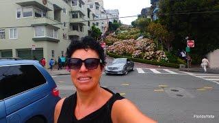 САМАЯ ЗНАМЕНИТАЯ УЛИЦА San Francisco Lombard st. FloridaYalta 20.08.2015