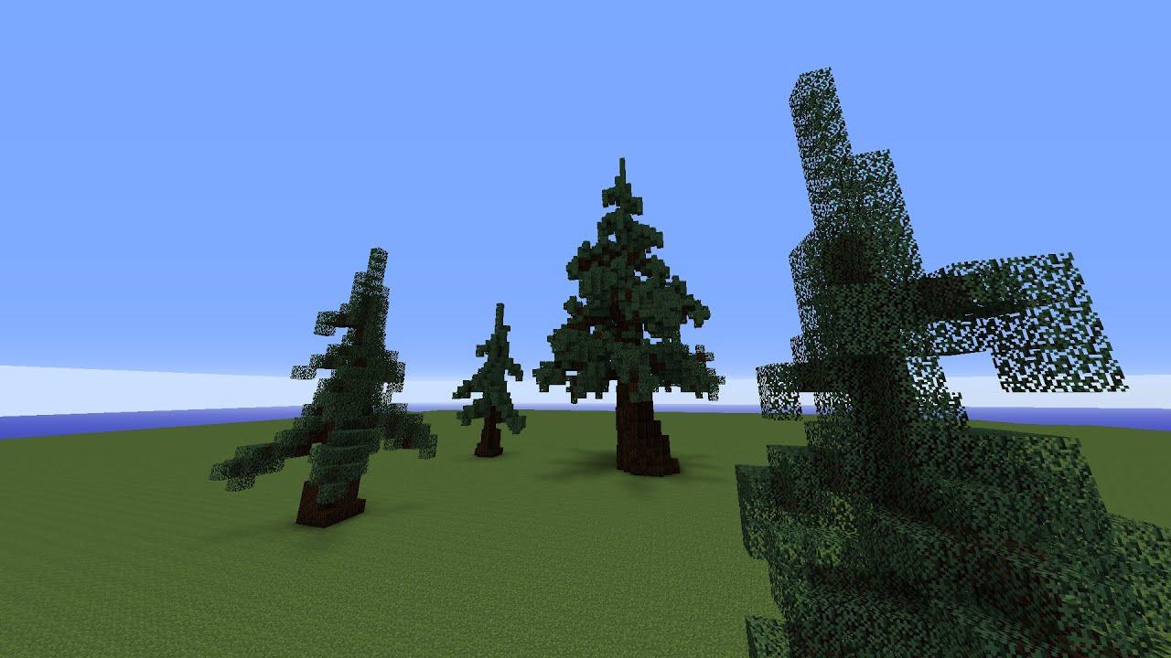 Small Custom Tree Minecraft