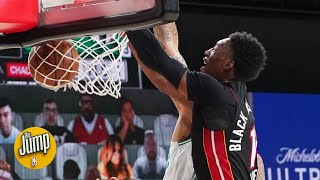 Was Bam Adebayo's slam the turning point of Game 6 for the Heat? | The Jump