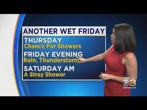 Philadelphia Weather: Umbrella Alert