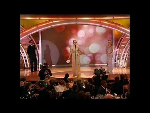 Meryl Streep Wins Best Actress Motion Picture Musical or Comedy - Golden Globes 2007
