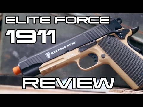 Elite Force 1911 Review Ballahack Airsoft