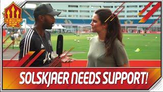 Solskjaer Needs Time! Ingrid Halstensen Man Utd Transfer News