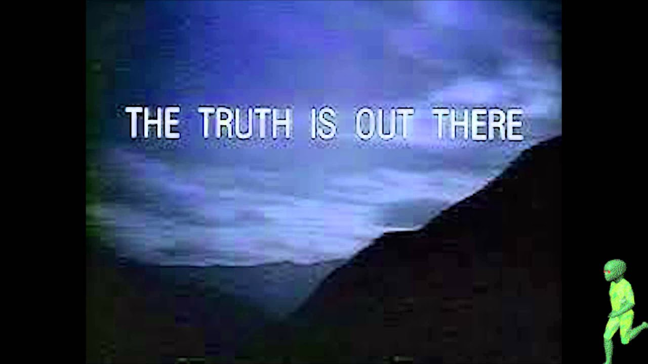 X Files The Truth Is Out There Poster X Files The Truth Is O...