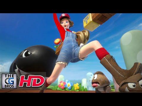 """CGI & VFX Breakdowns: """"Mario : Genderswap"""" - by Vanicha Suwansiri"""