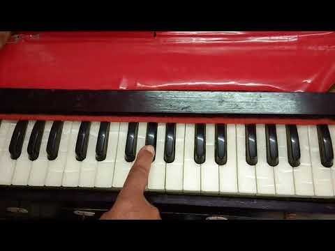 Pyar Karne Wale Kabhi | Hero | Harmonium Tutorial | Piano/ Keyboard Tutorial