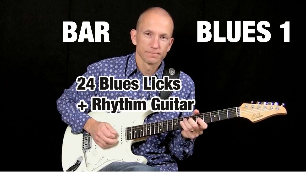 The up and down blues lick