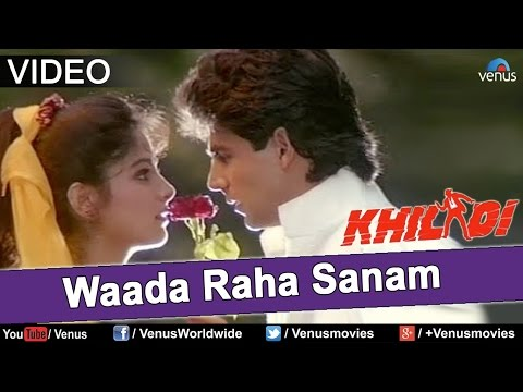 Waada Raha Sanam - Duet | Khiladi | Akshay Kumar & Ayesha Jhulka | Best Bollywood Romantic Song