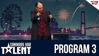Tryllekunstner Henning Nielsen - Danmark har talent - Program 3