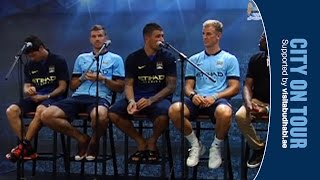 Manchester City Player Q&A Session - LIVE IN NEW YORK CITY