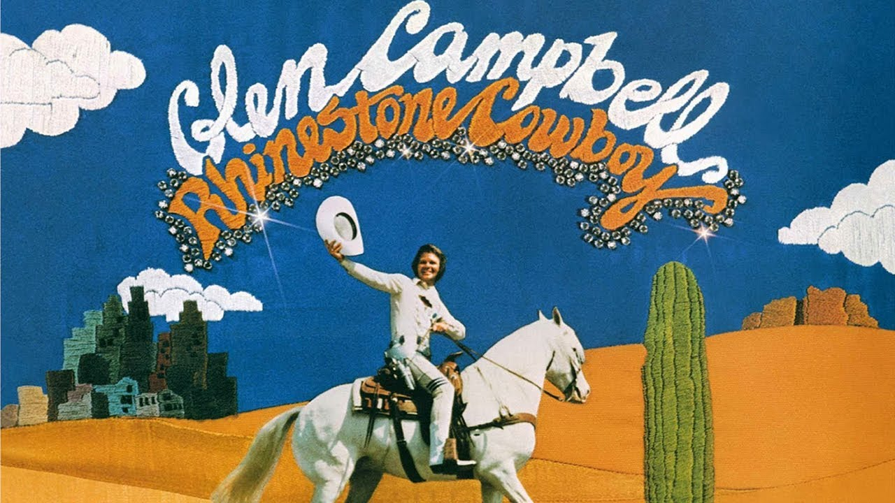 Image result for Rhinestone Cowboy  Glen Campbell images