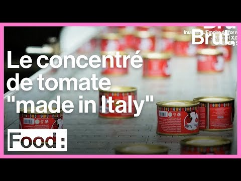"""La réalité cachée derrière le concentré de tomate """"made in Italy"""""""