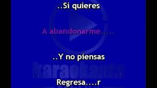 Karaokanta - Lucero - Si quieres verme llorar - (Demo)