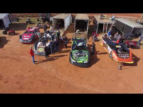Cherokee Speedway- Thunder Series Highlight  3/4/17 ::Drone/GoPro::