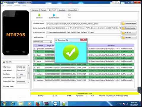 How to Flash LeTv Le 1s X509 by Sp Flash Tool