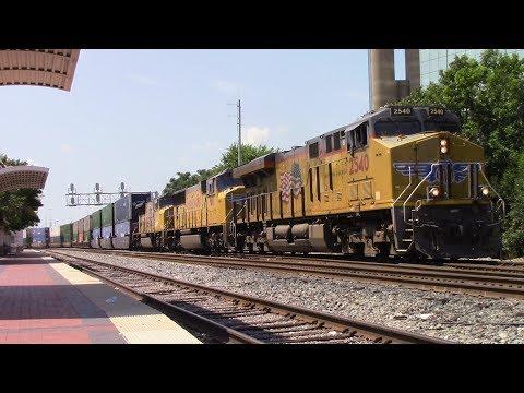 Railfaning Dallas Union Station - 7/7/17
