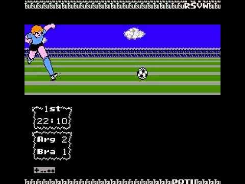 Captain Tsubasa Vol 2 Hack Argentina VS Brasil 2011( enfrentamientos)  por Gabriel: