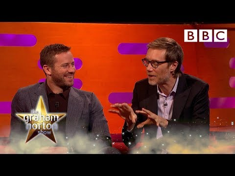 Stephen Merchant saved by Her Royal Highness Claire Foy 👑🥊 - BBC