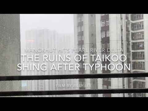The Aftermath Of Taikoo Shing After Mangkhut Hitting Hong Kong
