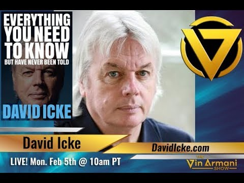 The Vin Armani  2518  David Icke: Everything You Need To Know But Have Never Been Told