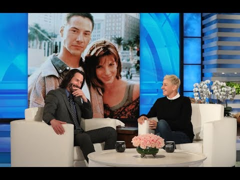 Keanu Reeves Had a Crush on Speed Co-Star Sandra Bullock