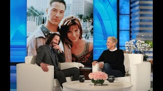 Keanu Reeves Had a Crush on \'Speed\' Co-Star Sandra Bullock